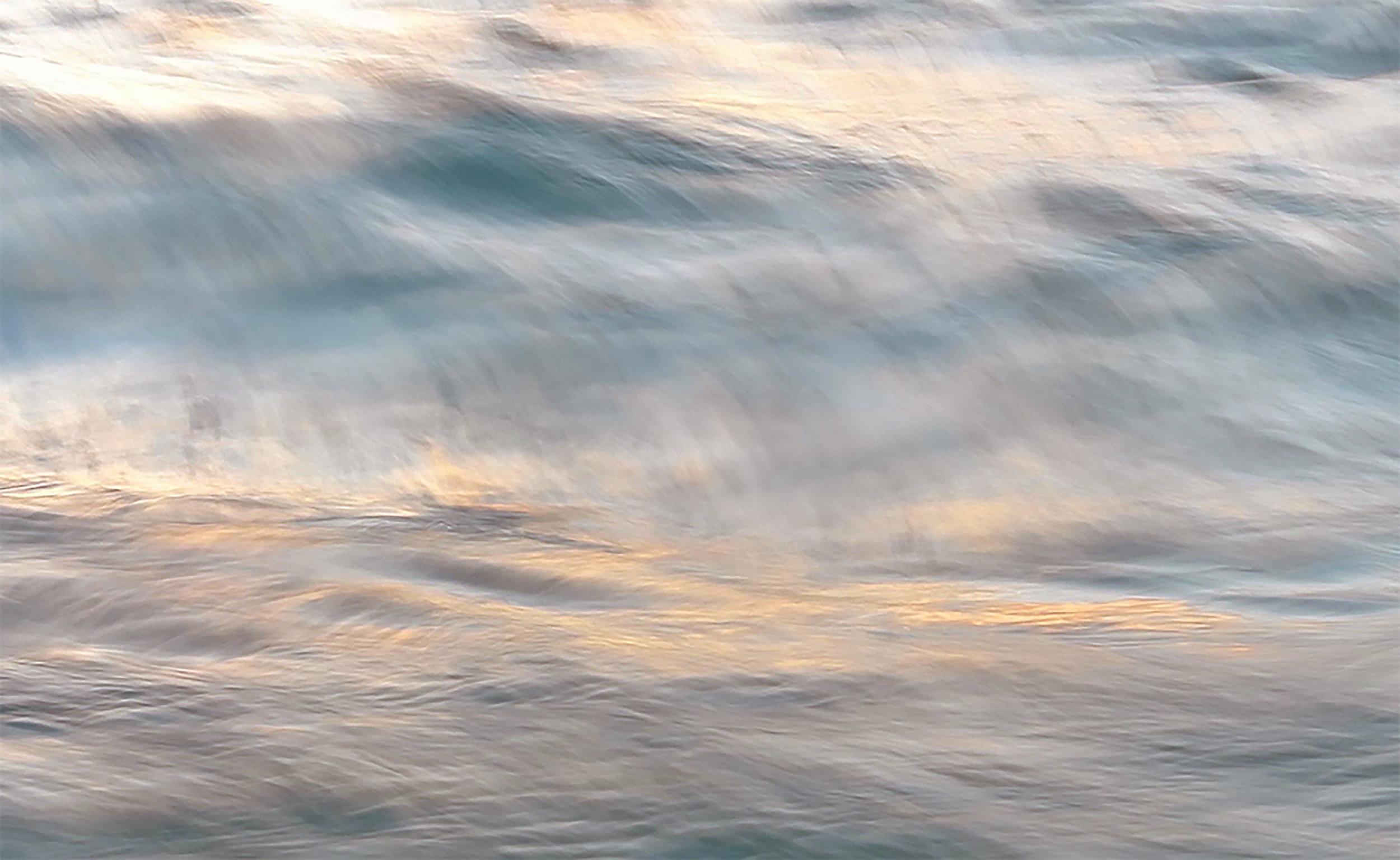 """""""Sunset Brushstrokes"""" ~ Maui, Hawai'i ~ no.31"""