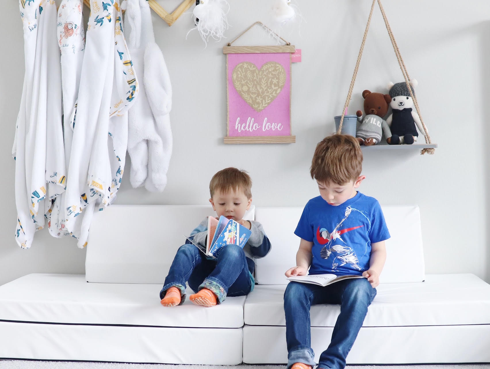 For Active Play & Rest Time, Too. - Kids & parents alike will love the Blocksy's versatility. Whether you're climbing, jumping, building, and rolling, or relaxing for a family movie, this sofa does it all.