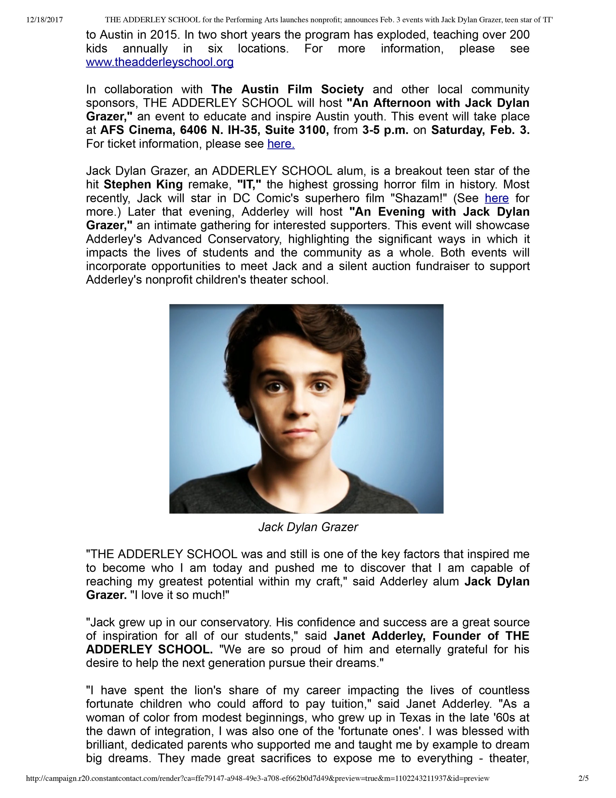 THE ADDERLEY SCHOOL for the Performing ...h Jack Dylan Grazer, teen star of 'IT'-2.jpg