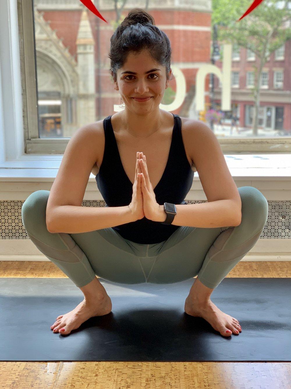Countering Sitting 1 Malasana Megan Prasad
