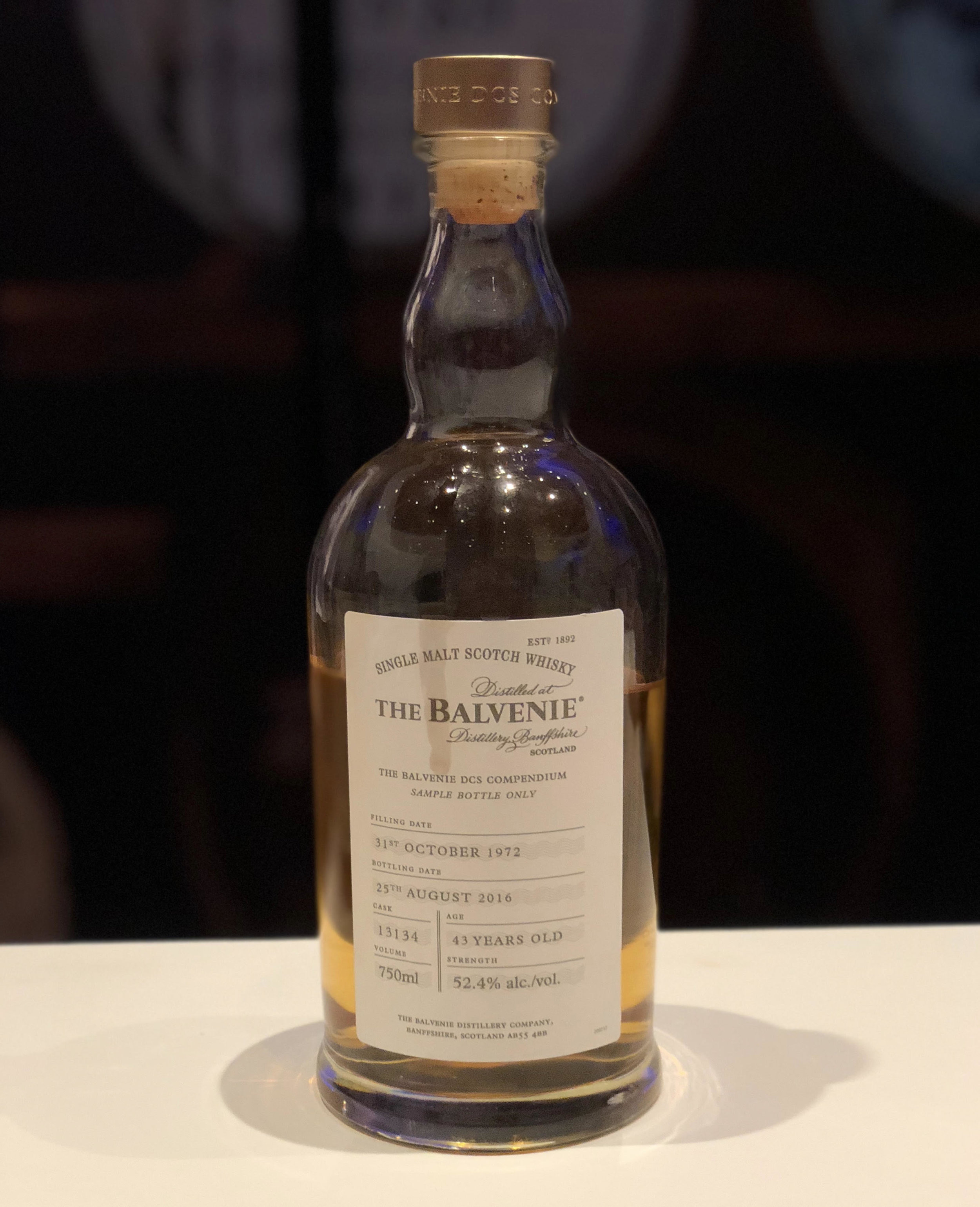 Balvenie DCS Compendium Chapter 2 - 1972