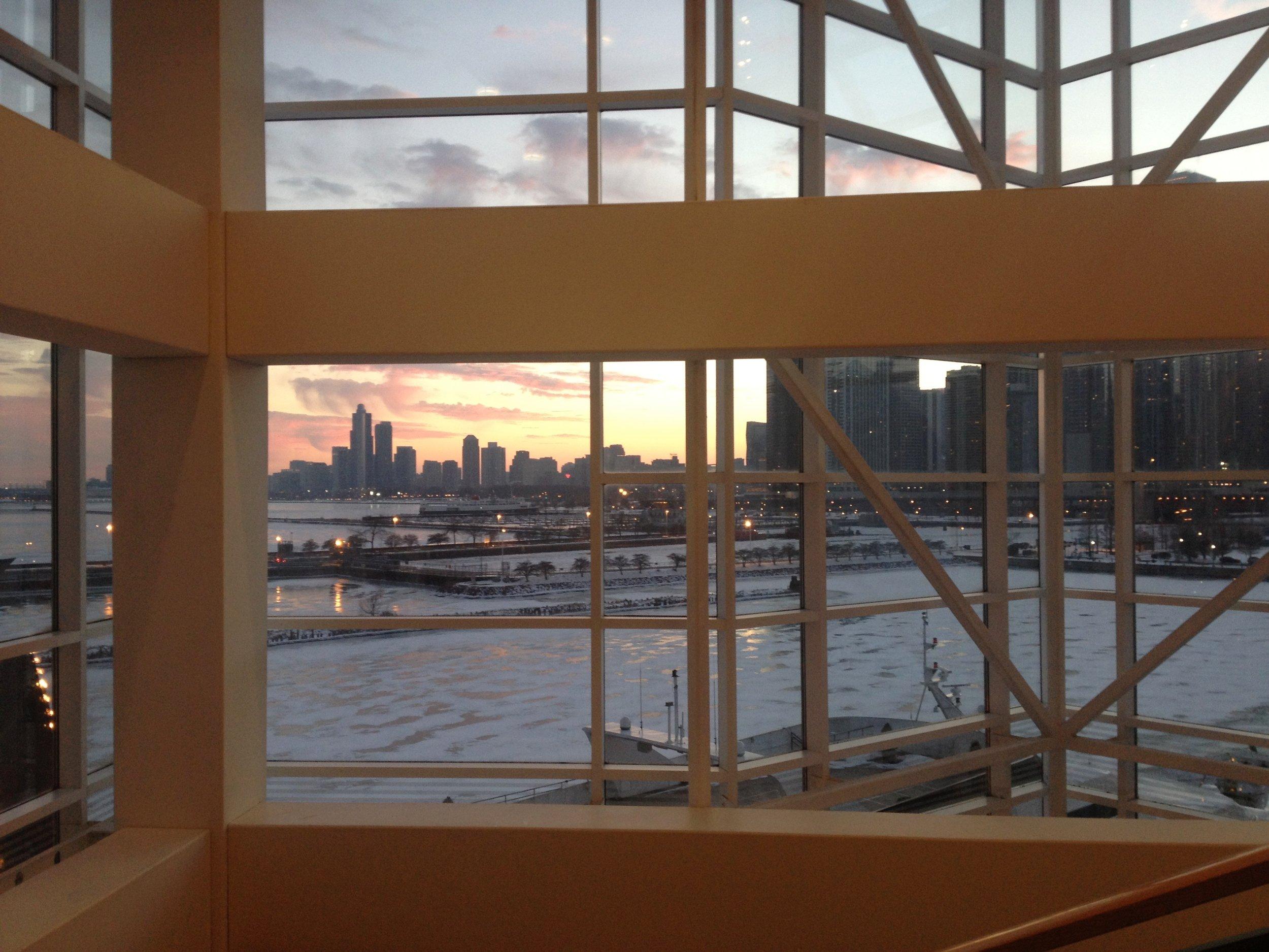 Chicago Shakes Lobby