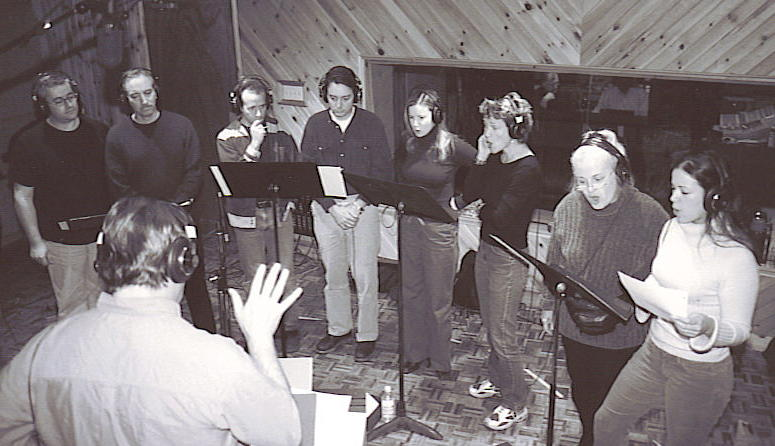 Cyrano recording session