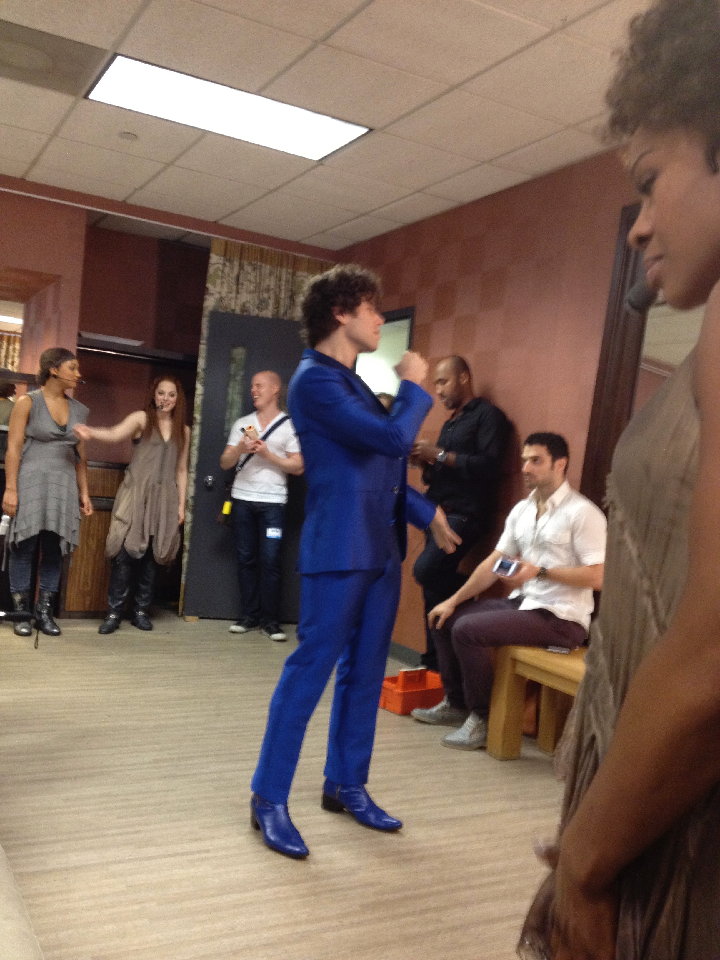 JCS backstage at The View