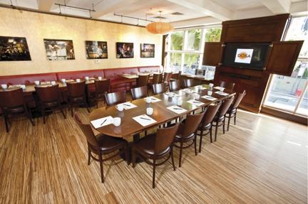 Fillmore Mezzanine for Business Lunches