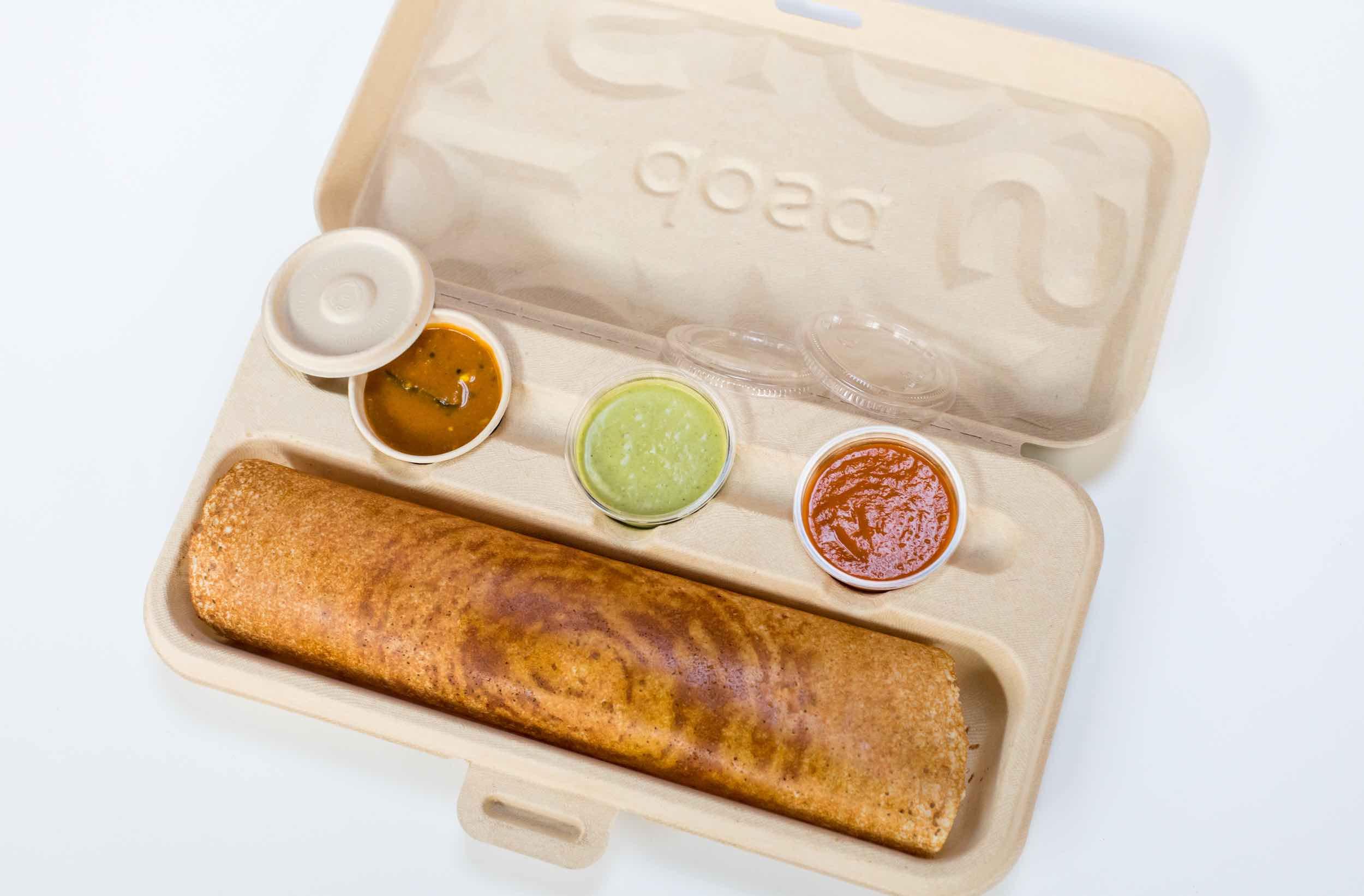 Our innovative dosa to-go box