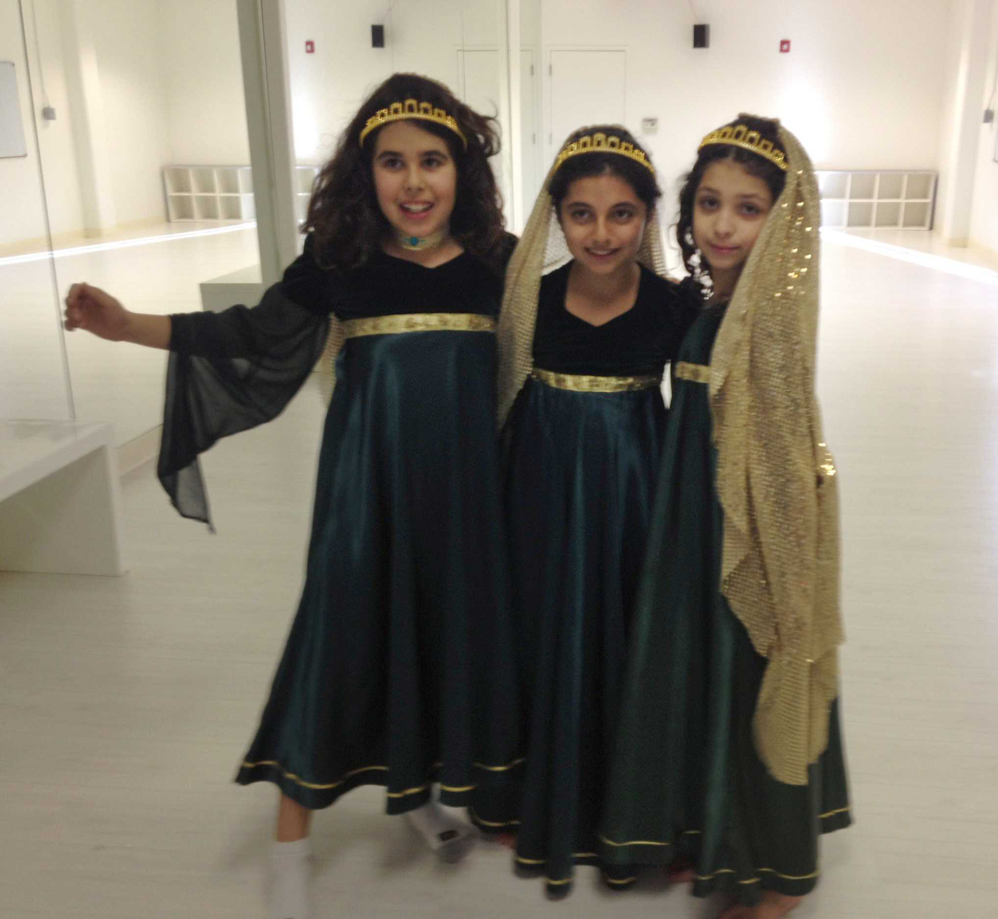Ume Norooz performance older girls class March 2015