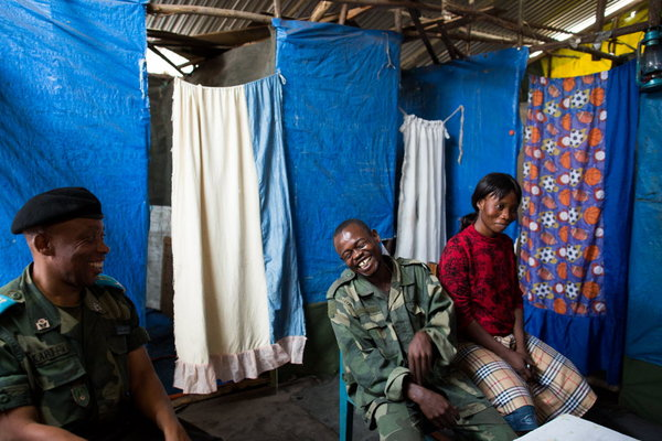 In Congo, Army Wives Battle for Normalcy in a Decades-Long War - THE CHRISTIAN SCIENCE MONITOR