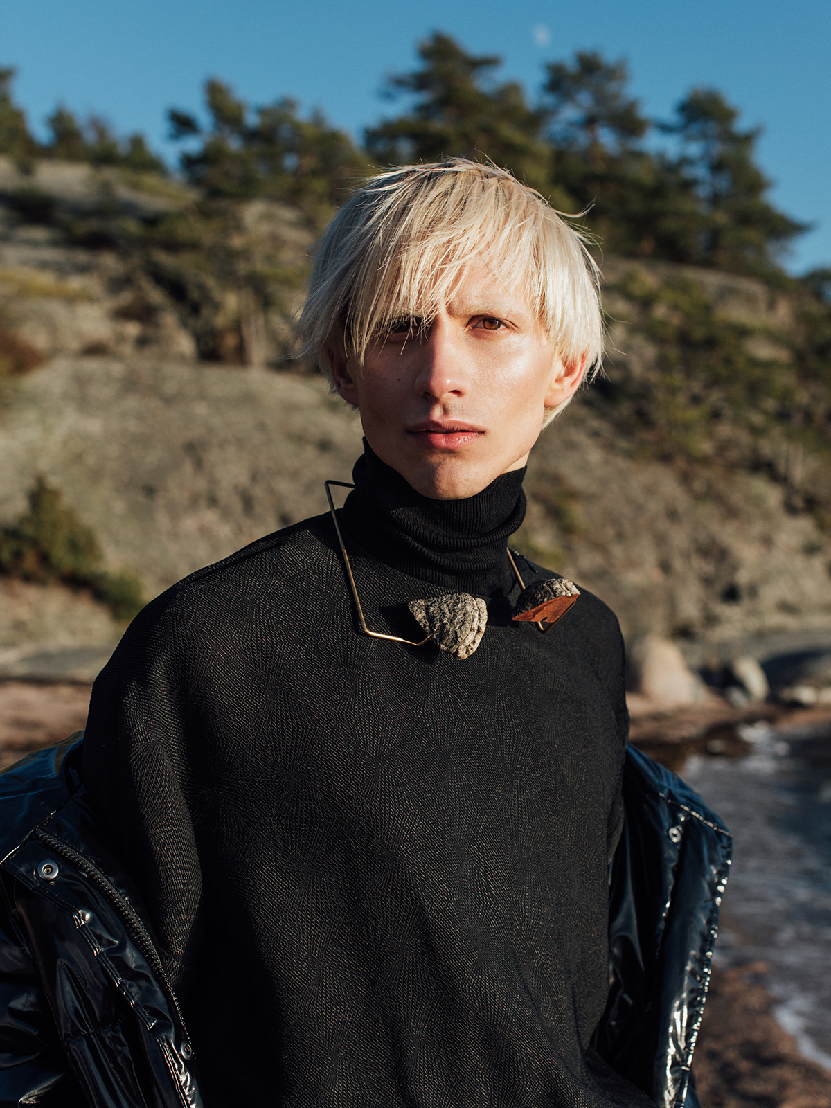 Jacket Monki / Top F.A.S / Necklace  Malin Henningsson