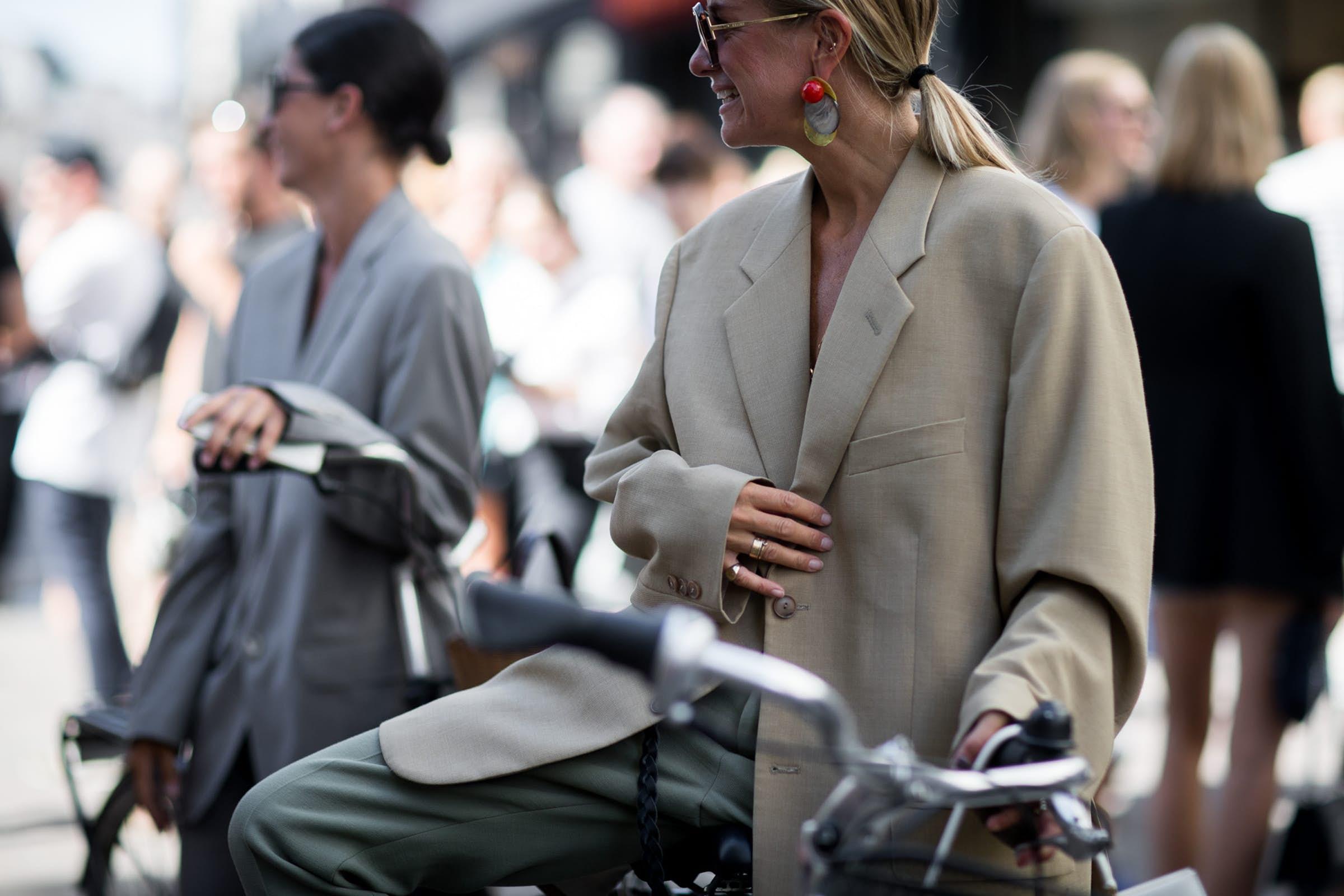 PHOTO: Victor Jones, Streetstyle Copenhagen Fashion Week SS19, Celine Aagaard & Katarina Petrovic