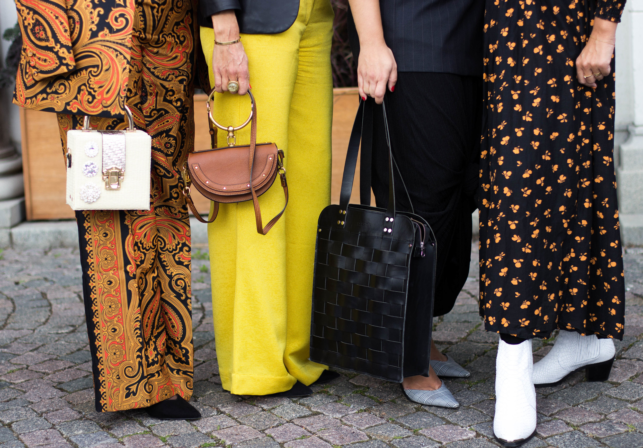Naima Osman ,  Camilla Runberg , Ninni (Editor-ni-chief of About That Look,  Tove Castor )   Bags:  Zalando ,  Chloe  &  Edwards Accessories