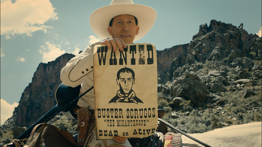 BALLAD OF BUSTER SCRUGGS- THE COHEN BROTHERS