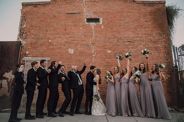 bridal party : your best friends in the world. the ones that celebrate your love and party on the dance floor all night with you! tag your tribe and let em know you love them 💃🏻🥳