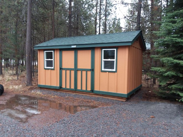 Caldera Storage Shed - Inspired by the wonderous volcano calderas in Central Oregon.