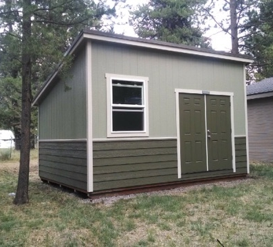 South Sister shed - Inspired by the beautiful Three Sisters of the Cascades.
