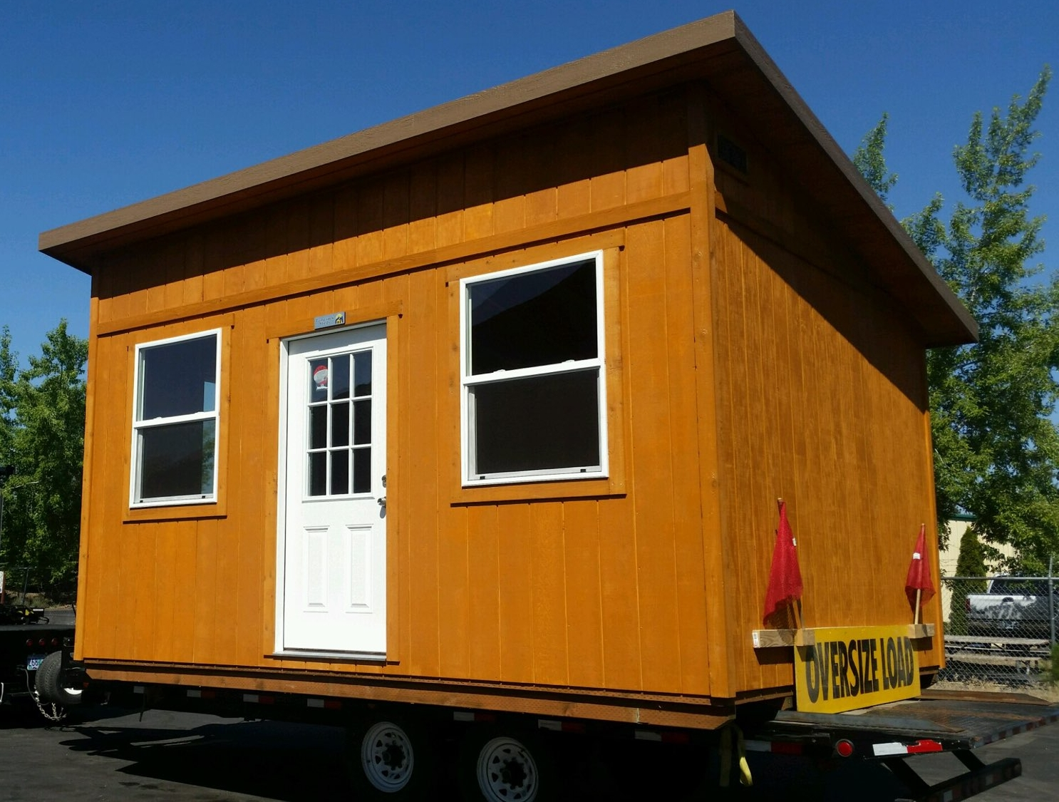 Metolius Tiny Home Shell - Inspired by the rushing Metolius River outside of Sisters.