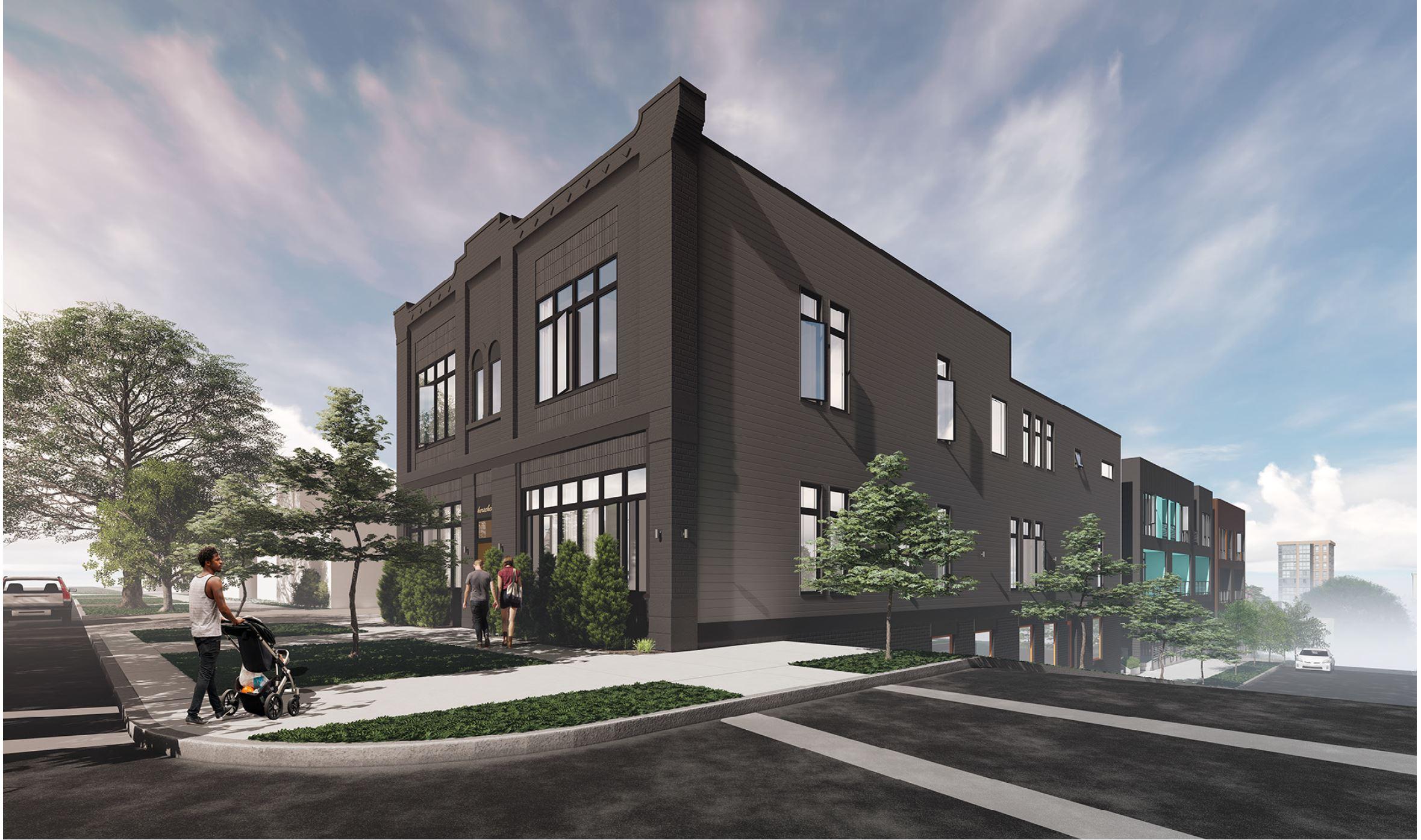 Unit 203 | $349,900    2 bed 2 bath 1140 sq. ft. $349,900 basement storage + parking space + balcony