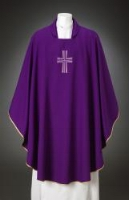 Contemporary Cross Chasuble $150