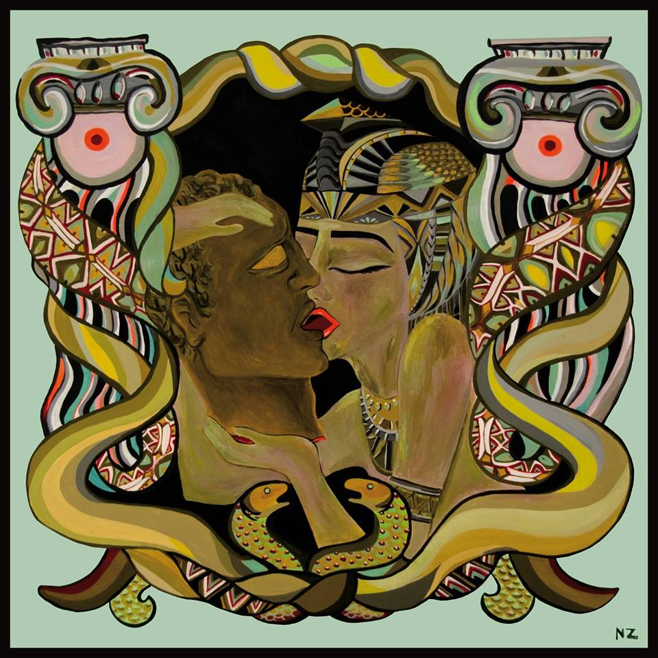 MERETRIX, Acrylic on canvas, Nelly Zagury, 2014