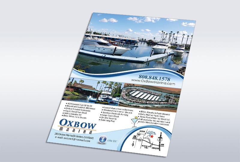 Full Page Ad Design