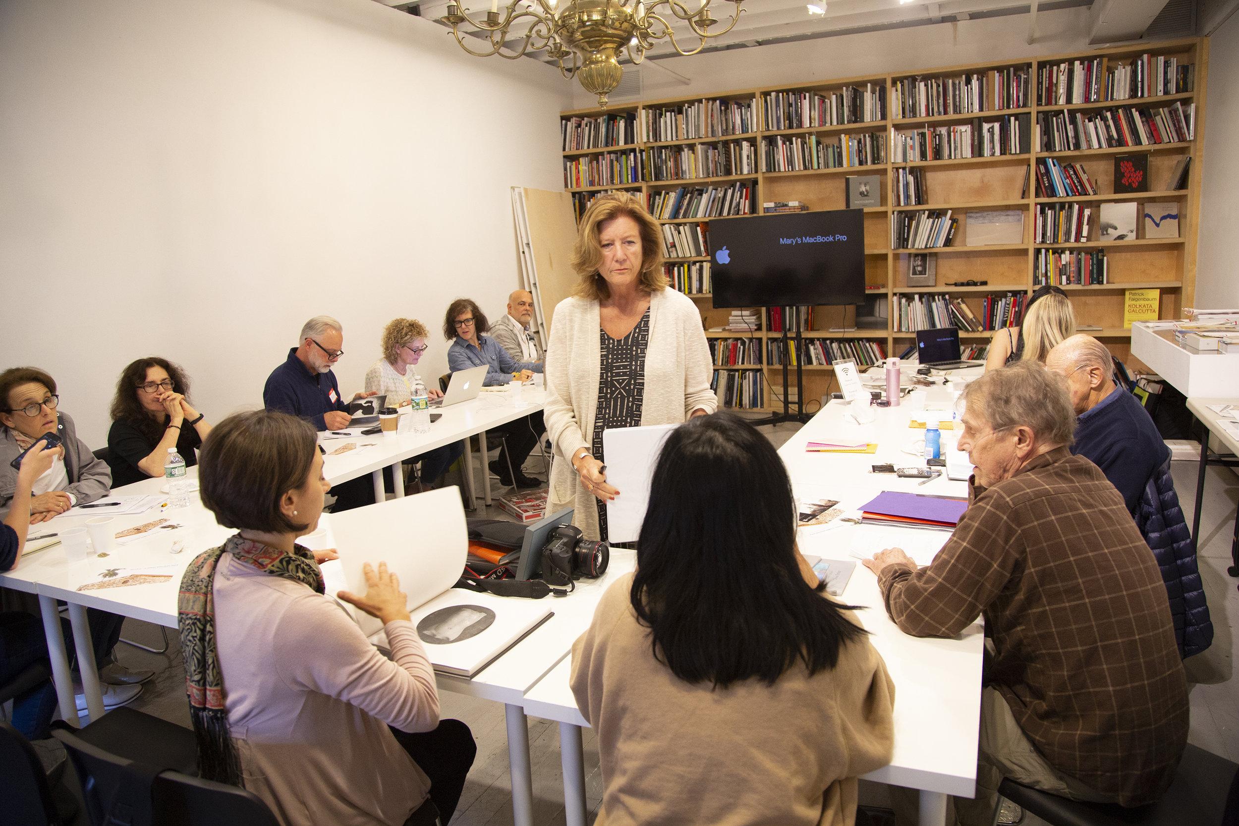 Workshop at Aperture