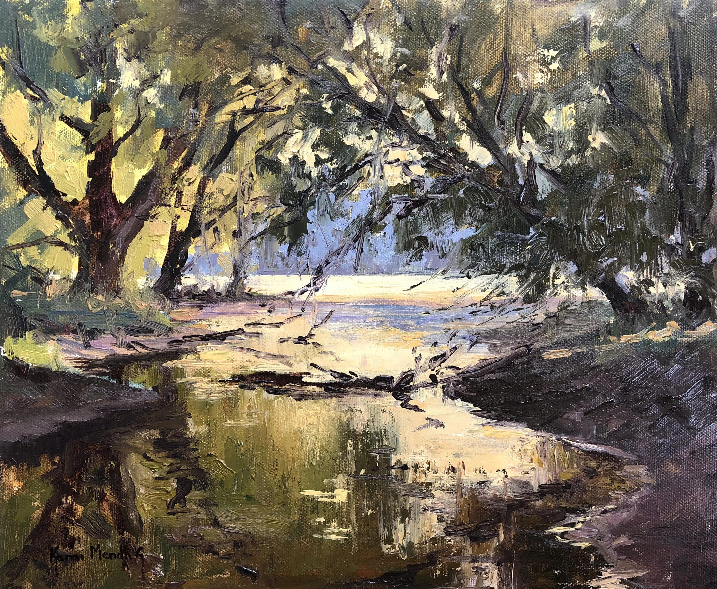 Painting by Kami Mendlik