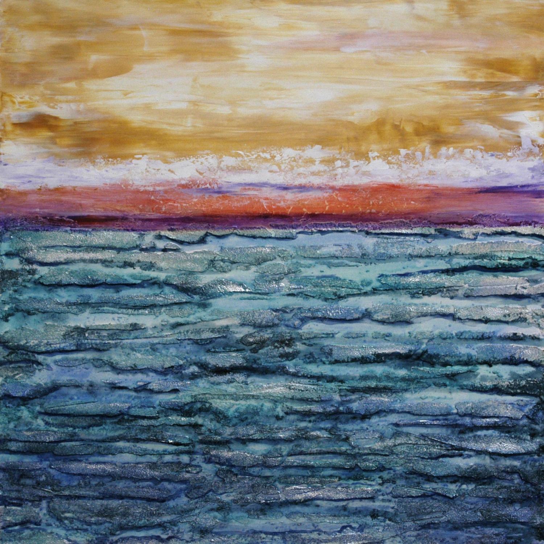 Serenity painting by Sandra Duran Wilson