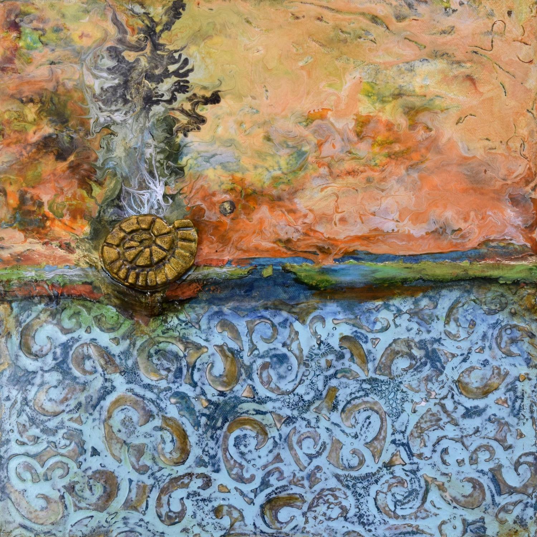 Gateway painting by Sandra Duran Wilson