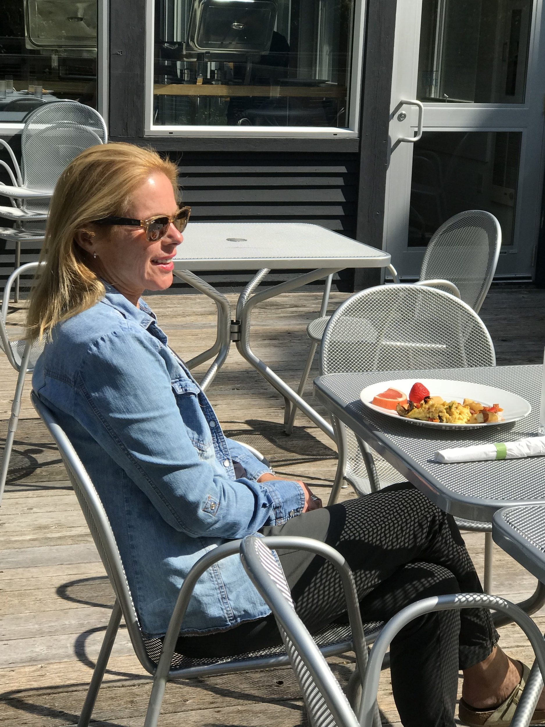 Kathleen Conklin yoga retreat at Wild Rice Retreat