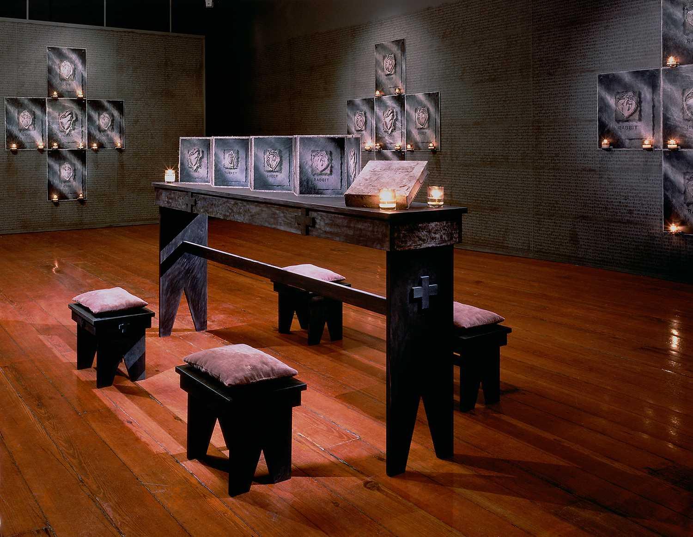 Art installation by Susan kae Grant