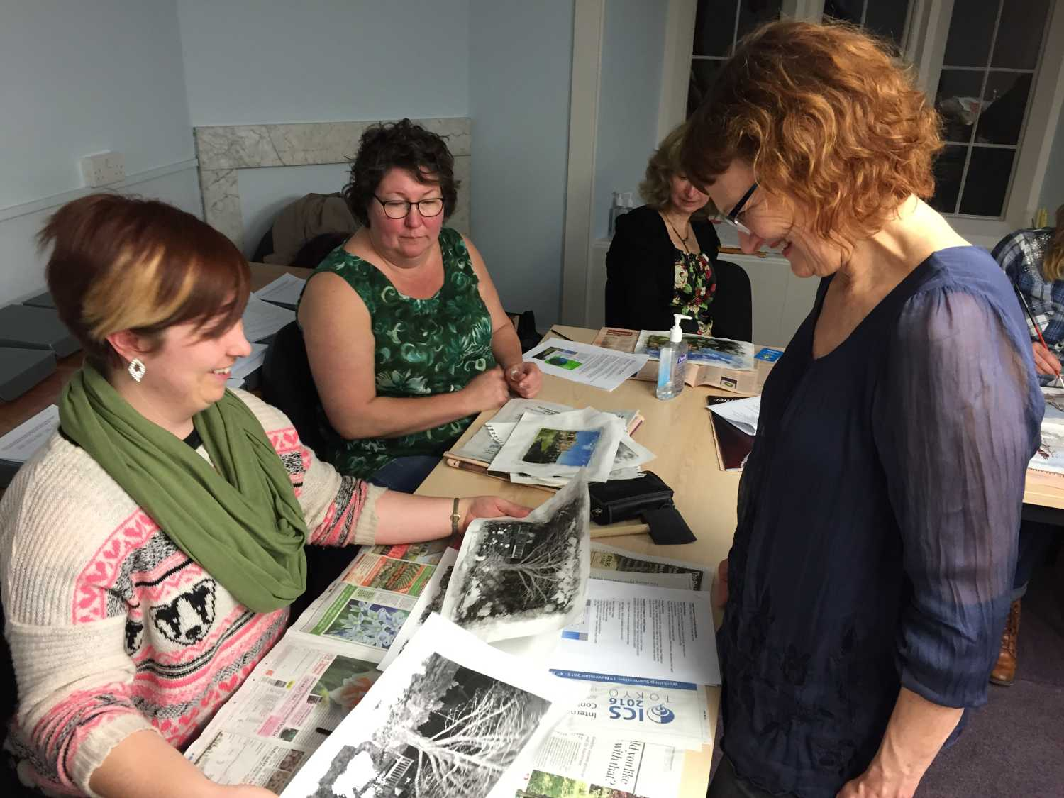 Bookmaking class with Susan kae Grant