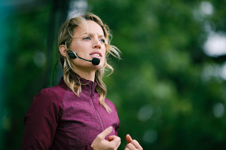 Chelsey Korus speaking