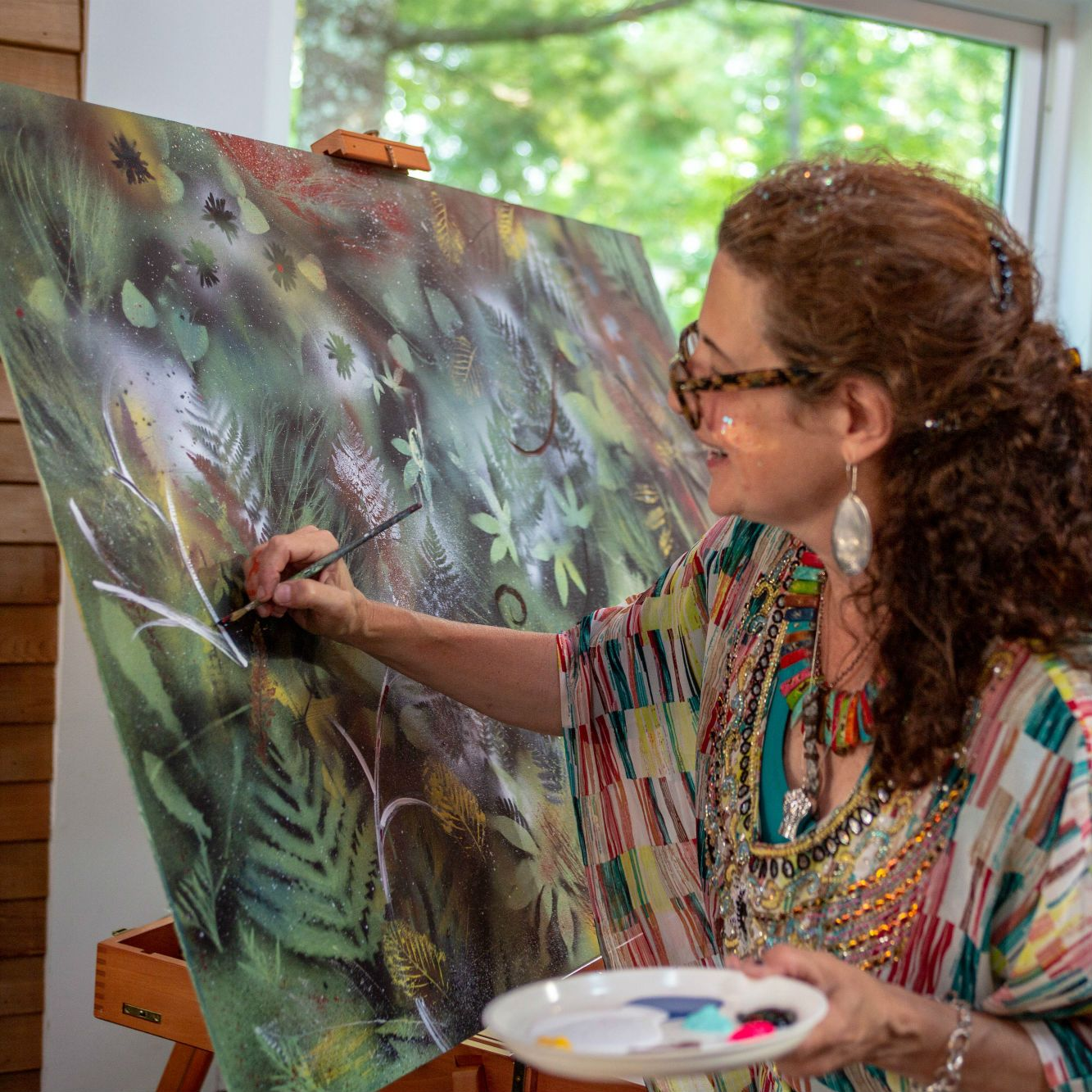 Painting and expression retreats at Wild Rice Retreat