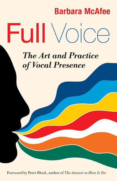 Barbara McAfee bringing your voice to life retreat