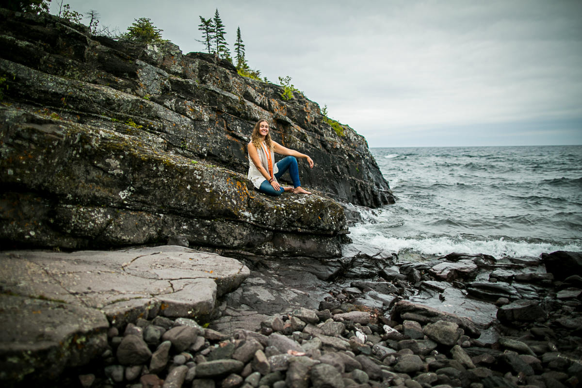 Lake Superior meditation with Amie Heeter