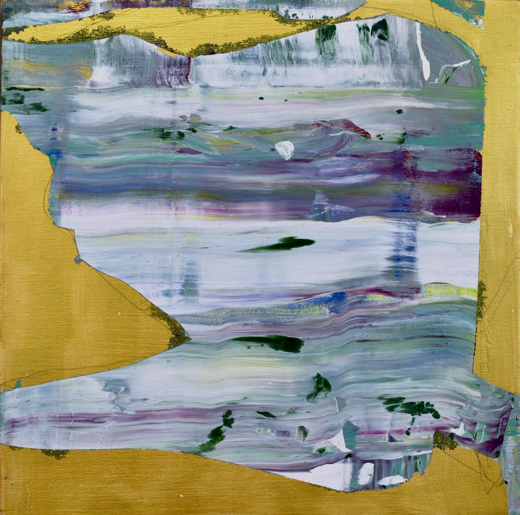 "Stasis  Acrylic on Canvas, 18"" x 18"""
