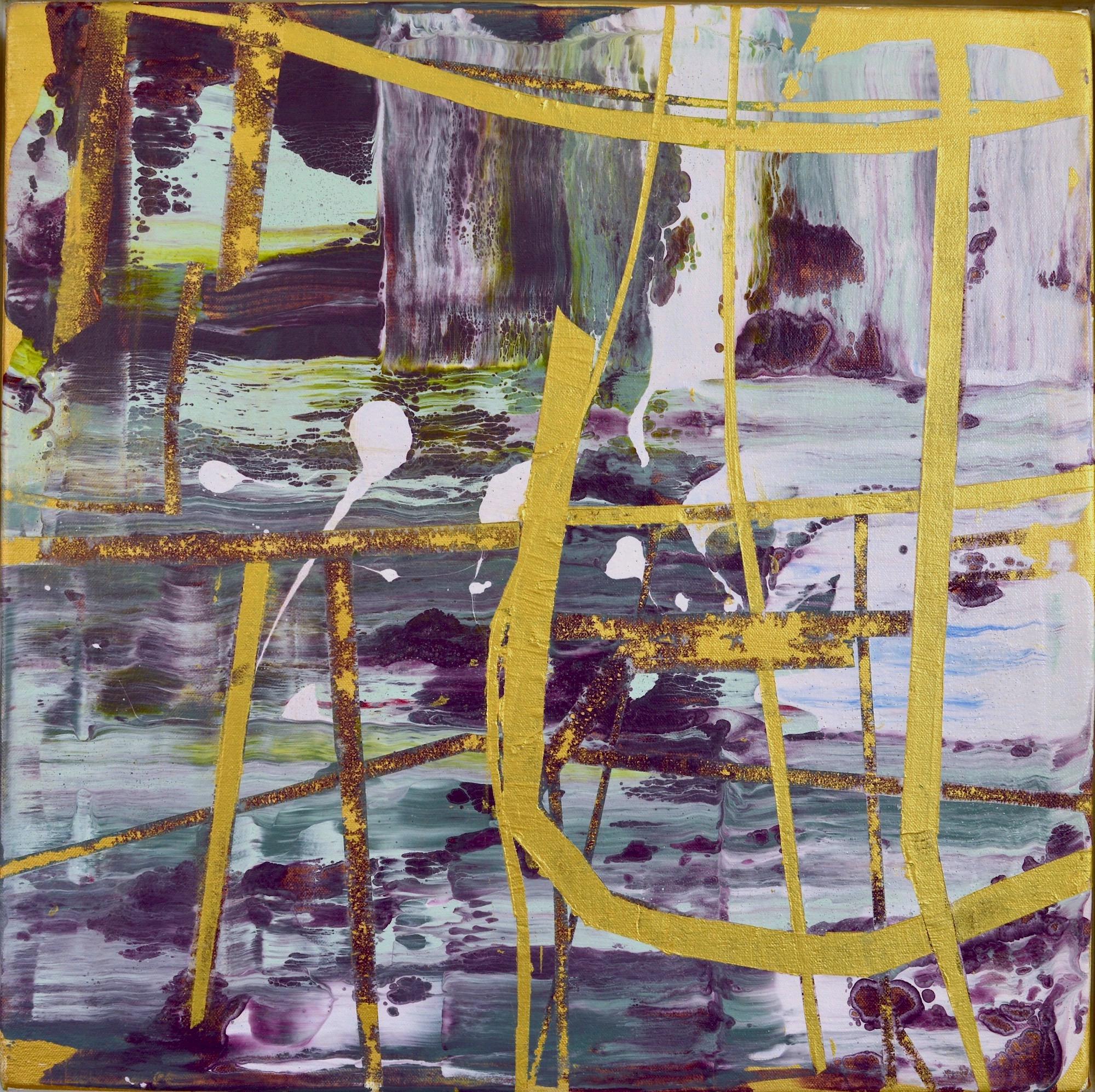 """Chrysos  Acrylic on Canvas, 18"""" x 18"""""""