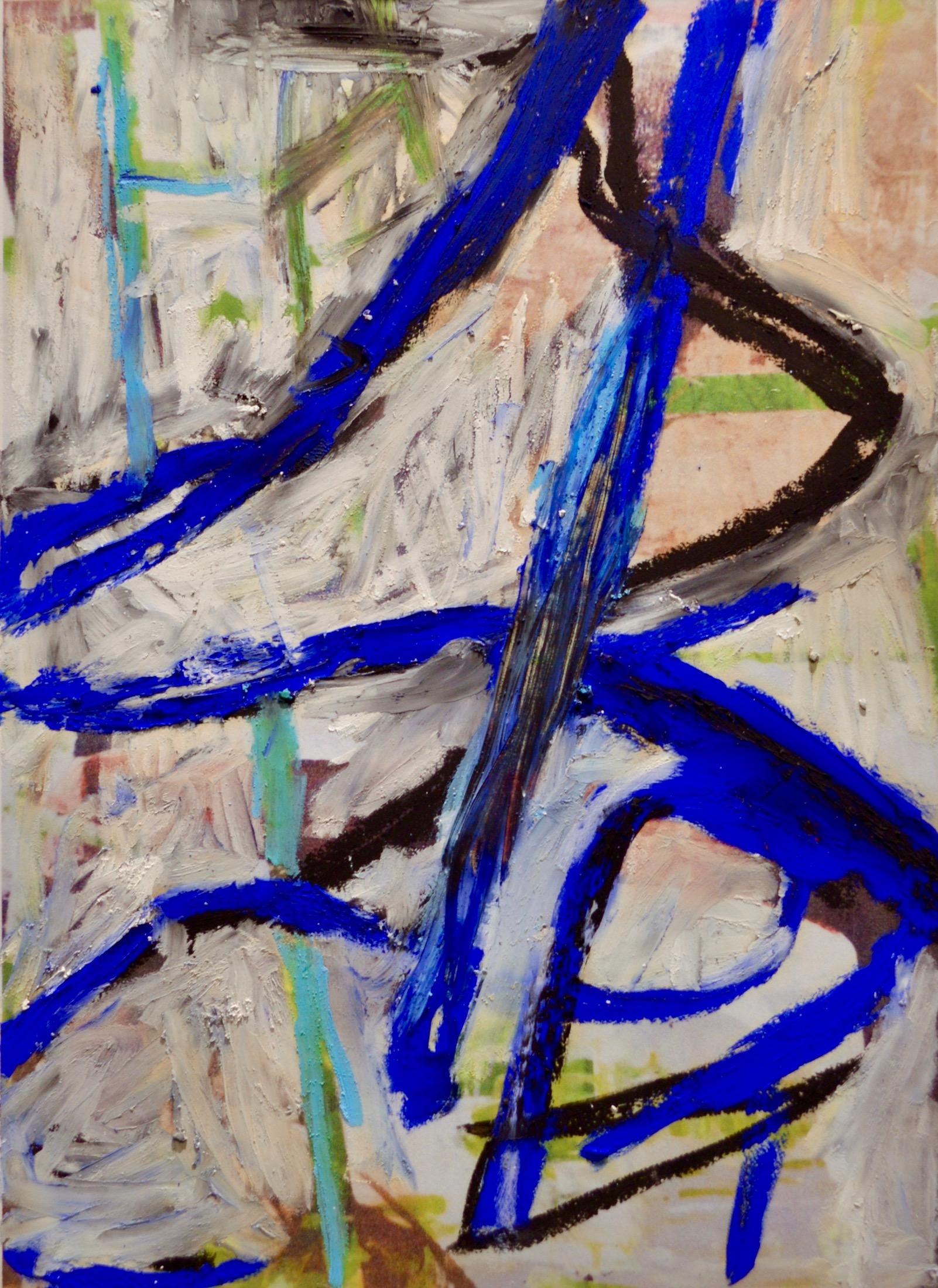 "Trees & Vines 2  Oil Pastel On Paper 14"" x 12"""