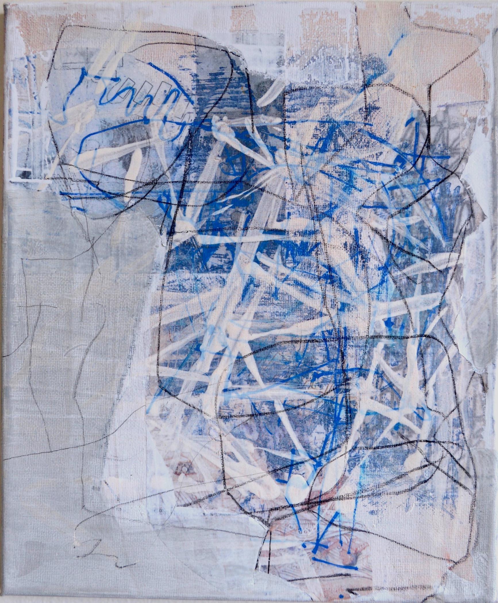 "Skin Is Regenerative  Acrylic on Canvas, 12"" x 10"""