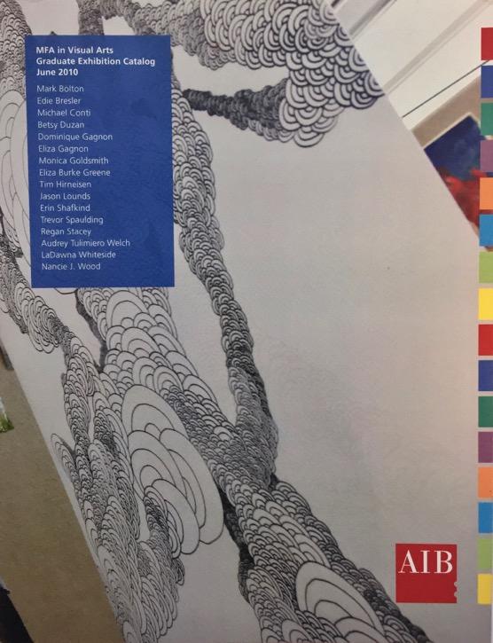 2010/ART INSTITUTE OF BOSTON AT LESLEY UNIVERSITY MFA GRADUATE EXHIBITION CATALOG