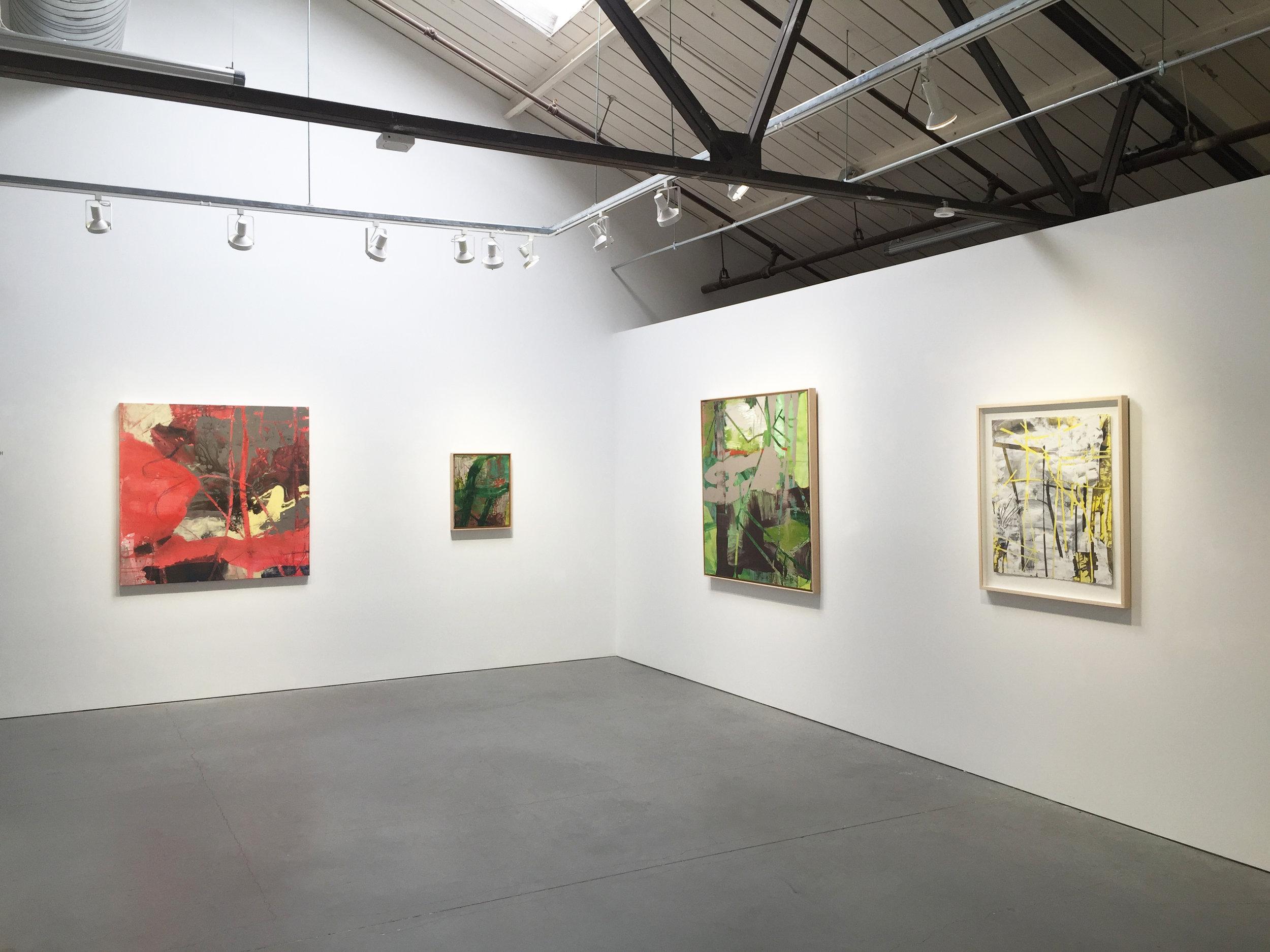 Installation Solo Exhibition 2017, Nancy Toomey Fine Art, San Francisco