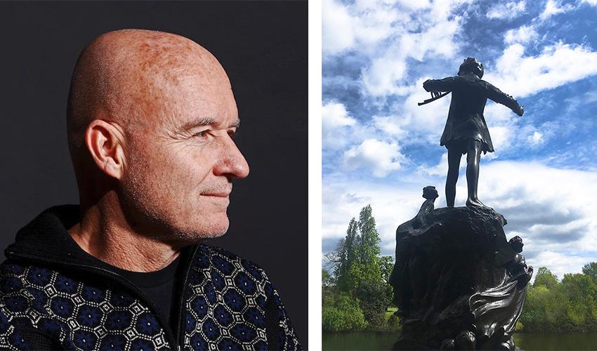 Image Credit: (Left) Gene Pittman of Walker Art Center; (Right) Baldwin Gallery