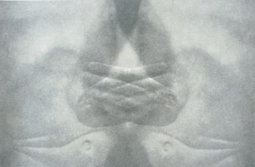 """Gesture V"" by Linda Schwarz 2002"