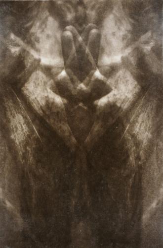 """""""Gesture VII"""" by Linda Schwarz 2002"""