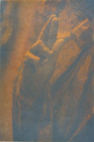 """Gesture XII"" by Linda Schwarz 2002"