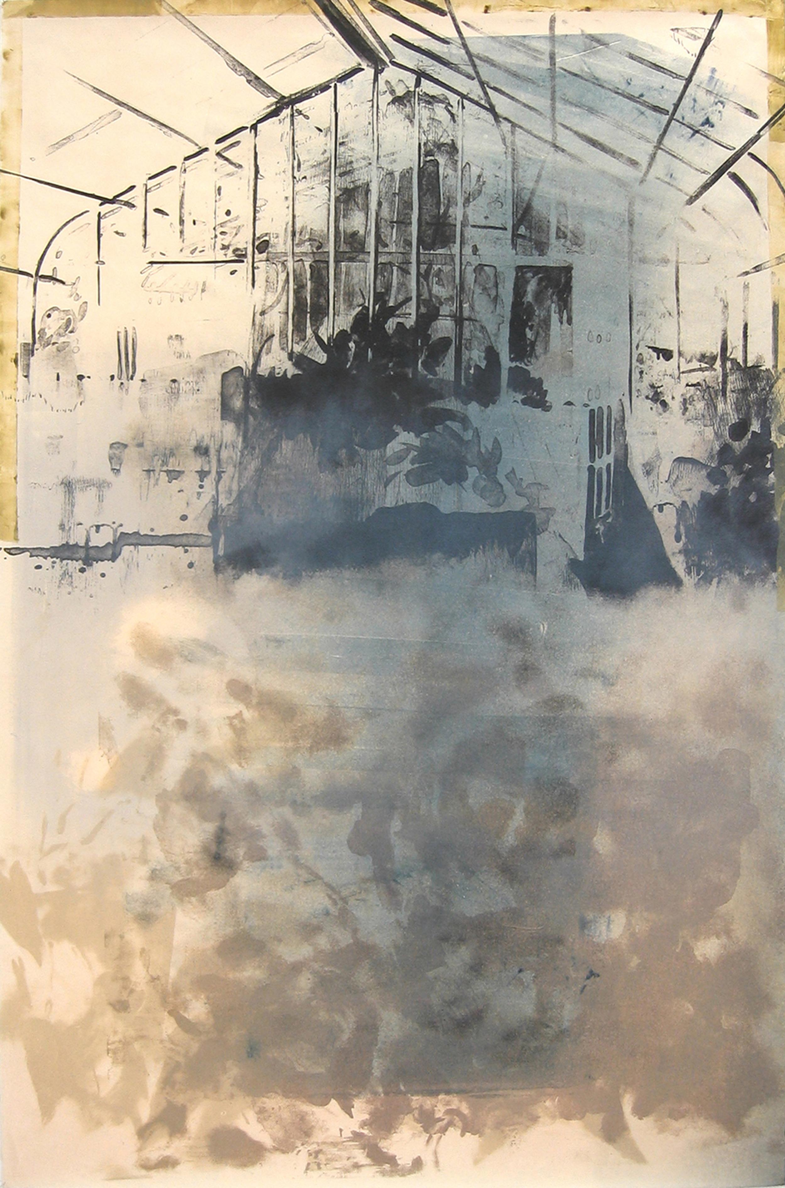 """""""Stone Greenhouse III/III"""" by Joel Janowitz 2005"""