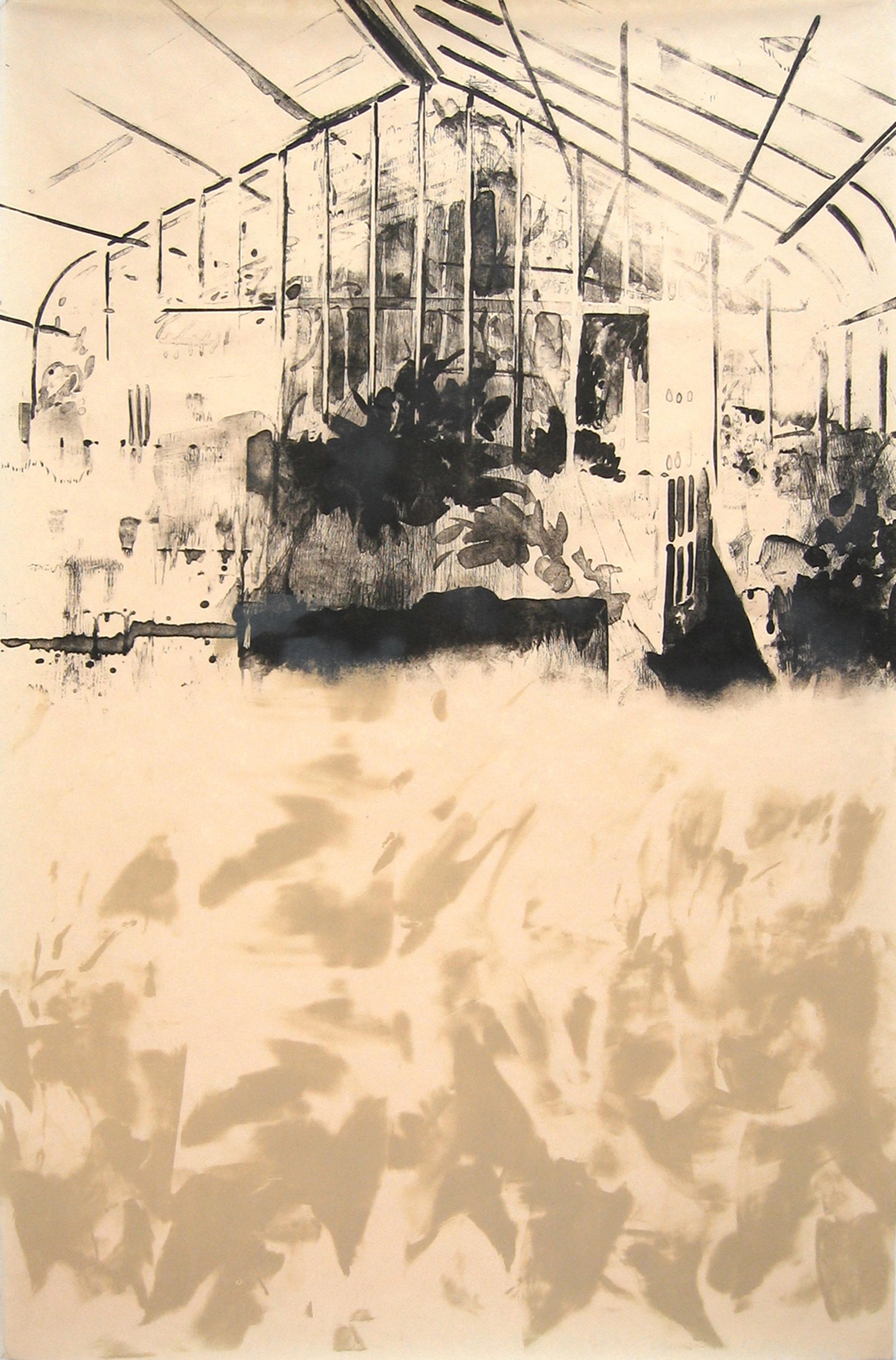"""Stone Greenhouse IV"" by Joel Janowitz 2005"