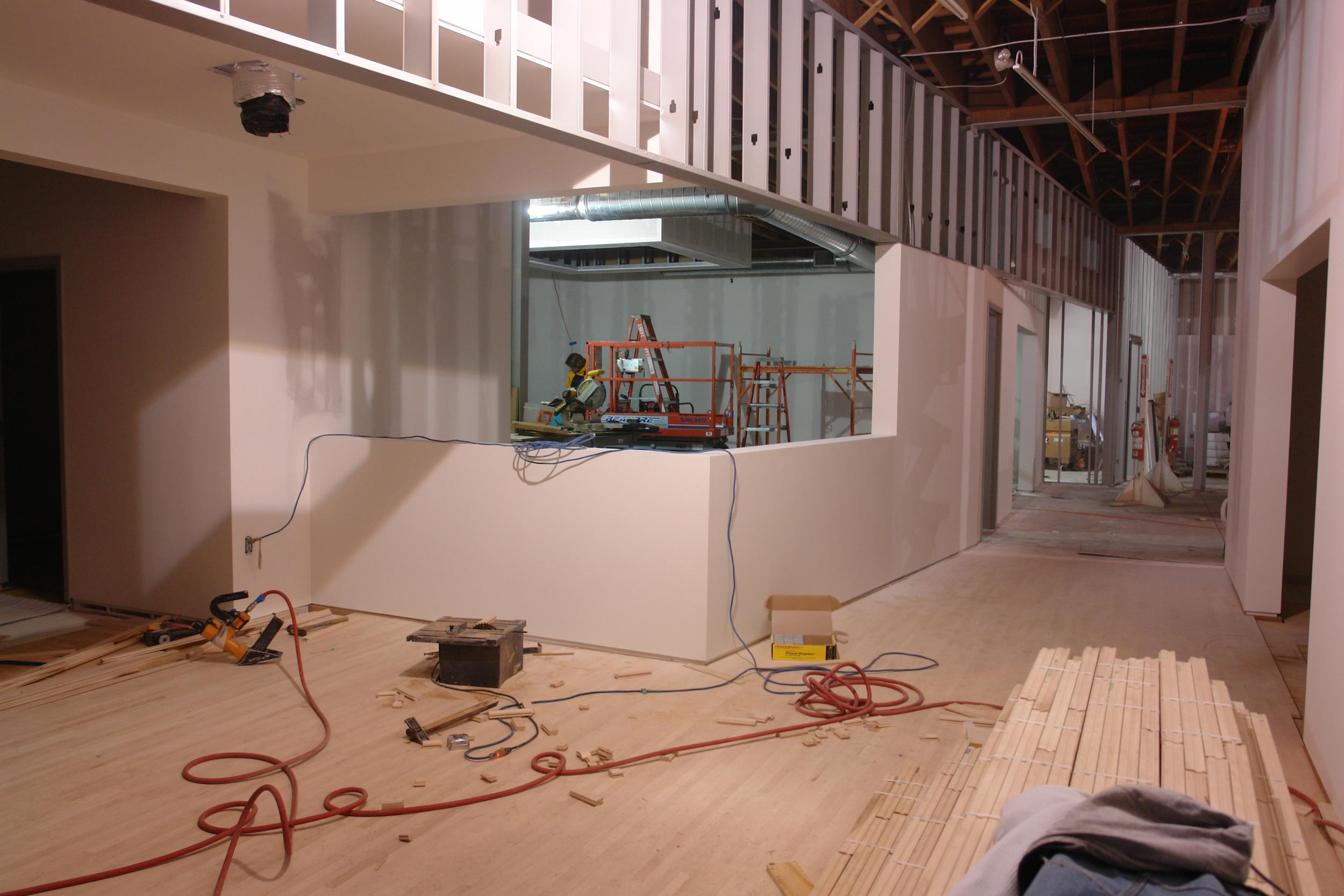 Construction of Pro-Shop