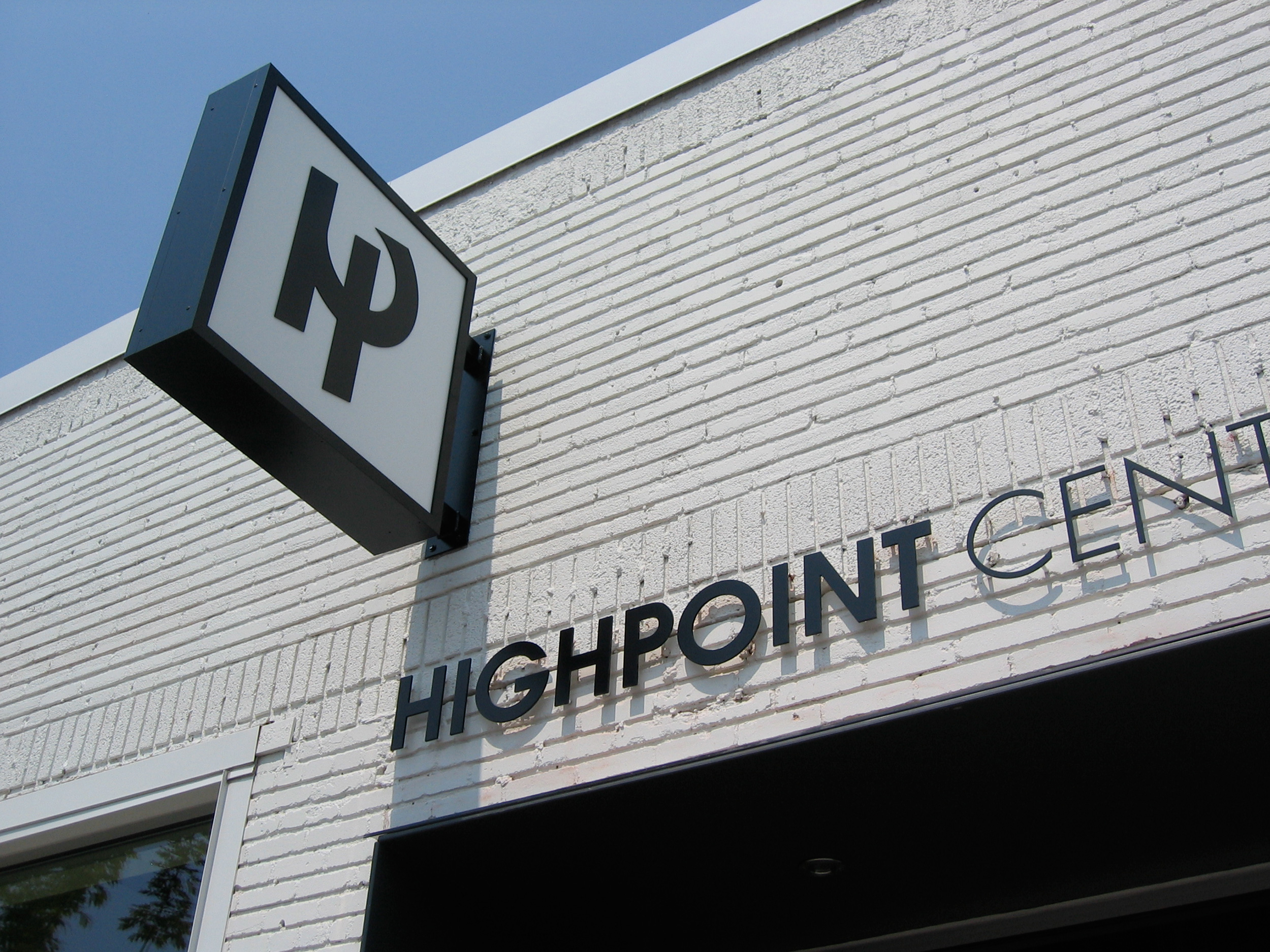Highpoint signage