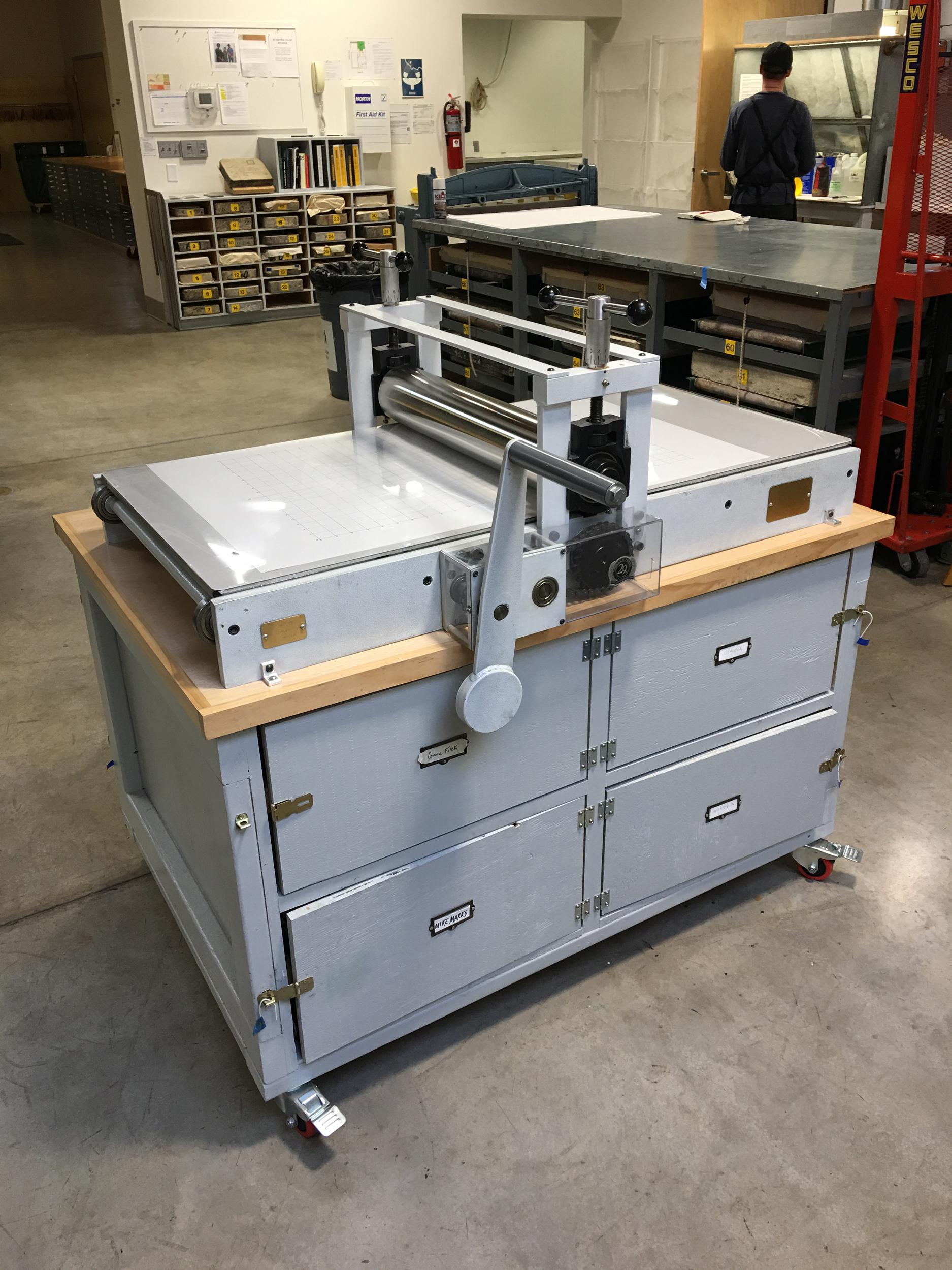 Small intaglio press